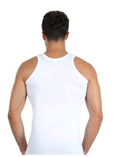 Akbeniz Atlet Beyaz